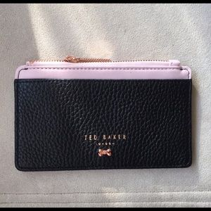 Ted Baker Textured Zippered Card Holder